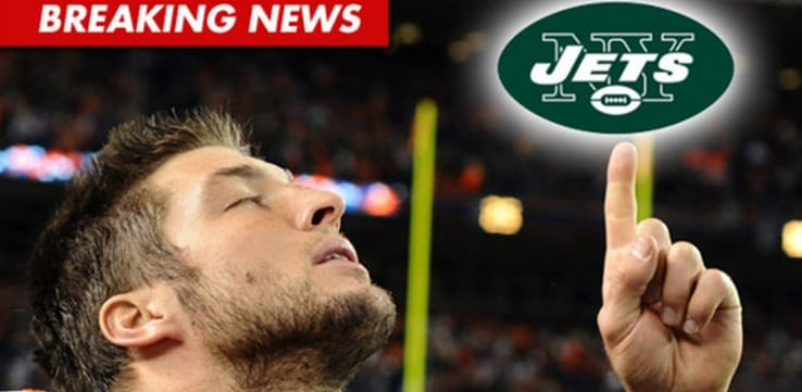 Tim Tebow  Waved