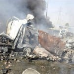 Twin Damascus Blasts Kill 40