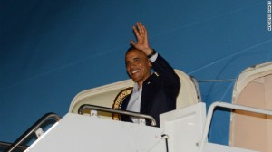 Obama Arrives At G-20 Summit