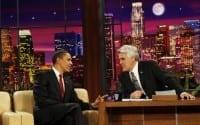 Obama To Chat With Leno On Wednesday