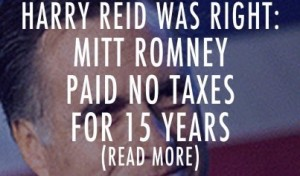 Breaking Romney Paid Zero Taxes From 1996 To 2009