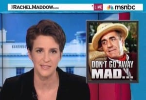 Rachel Maddow Republicans Are Obviously Furious With Romney Over Gifts Comment