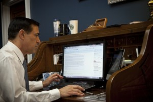 Rep. Darrell Issa Turns to Reddit for Internet Moratorium Bill