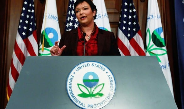 E.P.A. Chief To Step Down, With Climate Still Low Priority