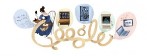 Google Doodle Celebrates Ada Lovelace
