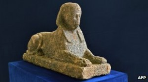 Italian Police Find Stolen Egyptian Sphinx