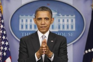President Obama To Make Statement On Fiscal Cliff At 5PM EST