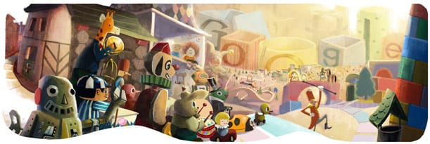 Happy Holidays! Google Doodle Celebrates Christmas