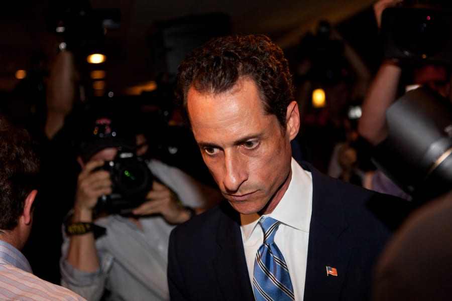A Working Weiner - Anthony Lands New Gig