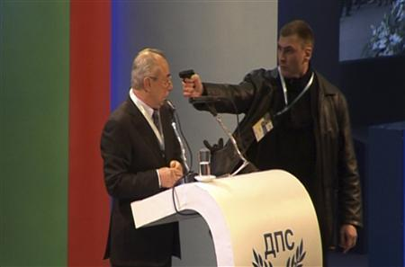 Bulgaria's Turkish Party Leader Survives Televised Gun Attack