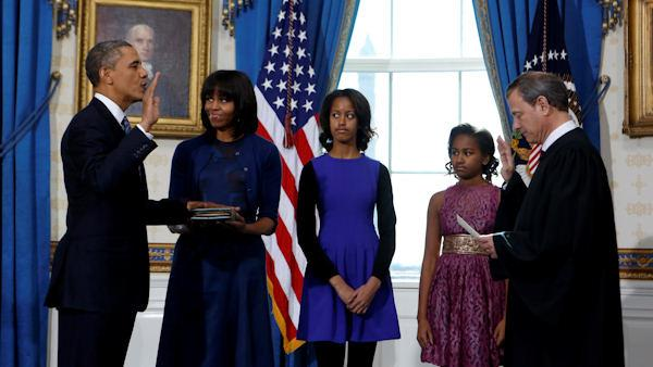 Obama Gets Second Swearing-In For Second Term