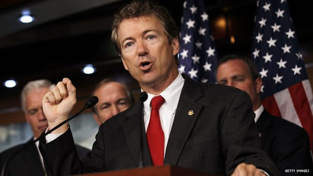 Sen. Rand Paul Calls For Gradual Cut In Aid To Israel