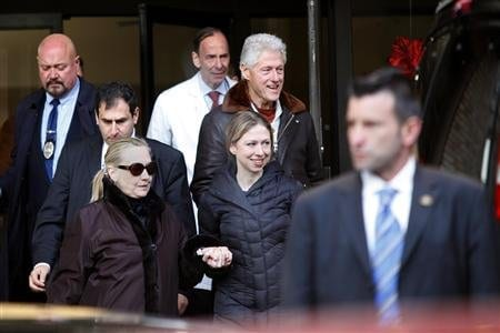 US Secretary Of State Clinton Discharged From Hospital
