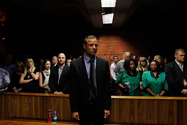 'Non-Stop Shouting' In Pistorius' Home Night Of Girlfriend's Death, Witness Says