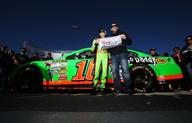 Danica Patrick First Woman To Win Pole For Daytona 500