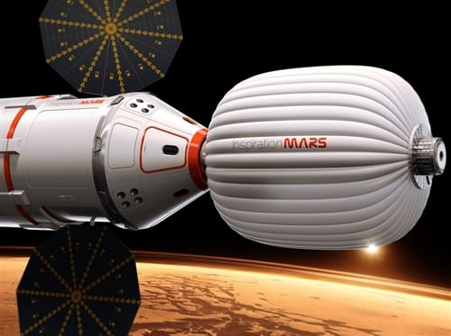 Investor Announces Plans To Send A Couple Into Space