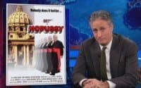 Jon Stewart Takes On Pope's Resignation, Mocks '007 Cardinals' They Could Star In 'Nopussy'