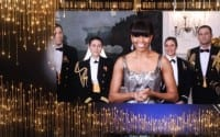 Michelle Obama Oscars Appearance: First Lady Presents Best Picture To 'Argo'