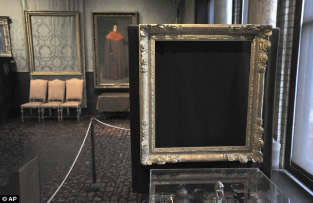 FBI identifies thieves in 1990 museum heist; paintings' locations remain unknown