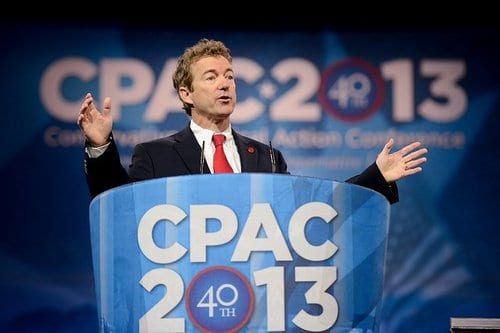 Rand Paul wins The Washington Times-CPAC 2013 Straw Poll