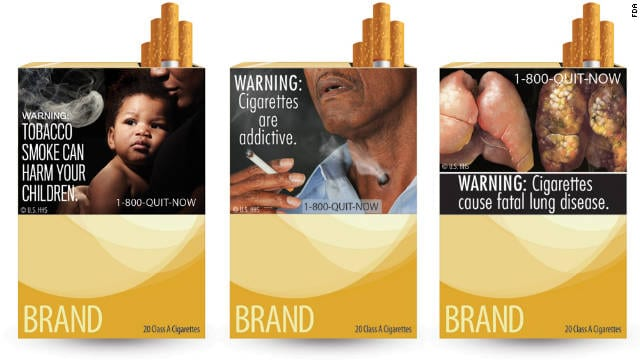 US Government To Revise Cigarette Warning Label