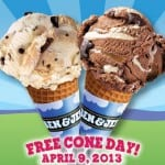 Ben &amp; Jerrys Free Cone Day Is Today, April 9  And More Freebies Coming