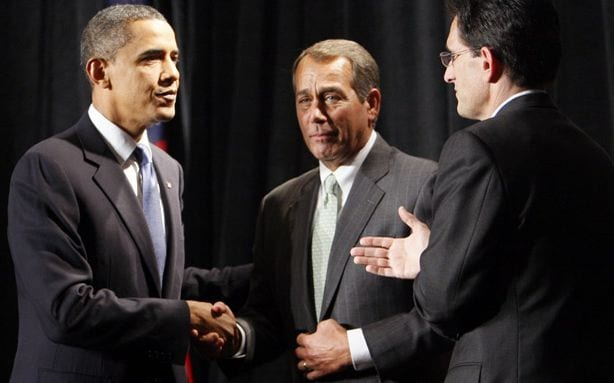 Dinner Dates May Be Powerful Obama's Budget Will Force GOP to Admit What Obama's Been Offering All Along