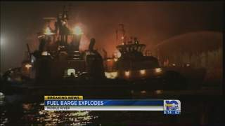Fuel Barge Explosions Shake Mobile, Alabama