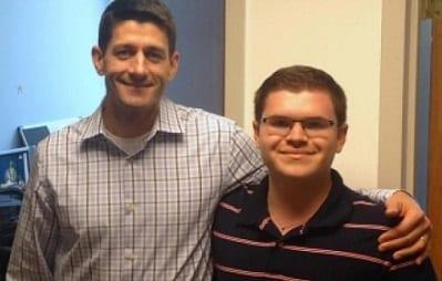 Paul Ryan Intern Charged with Stalking