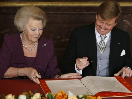 Queen Beatrix Of The Netherlands Abdicates