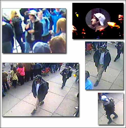 Bombing Suspects Photos Released By FBI