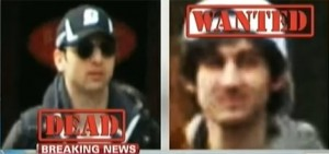 one dead one wanted boston bombing