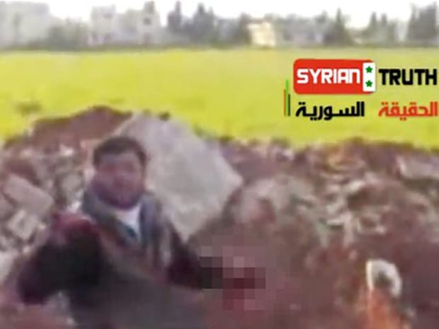 'Eye for an eye' Eating Syrian soldier's heart was legitimate act of vengeance, says rebel in gruesome video
