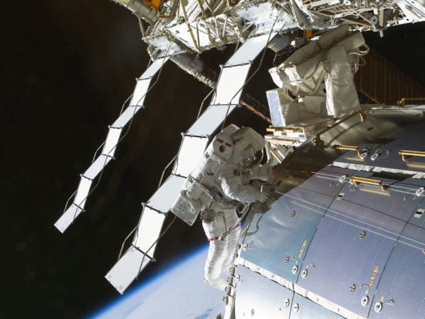 Astronauts prep for spacewalk after ammonia starts leaking out of the International Space Station