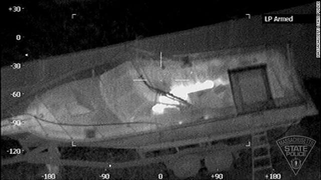 Boston Bombing Suspect Left Note In Boat, Officials Tell Times