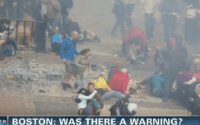 Boston Bombings Warnings