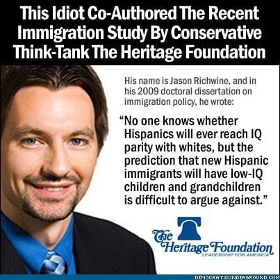 Author of Study on Immigrants' I.Q. Leaves Heritage ...