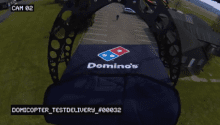 Dominos Pizza Delivery Drone