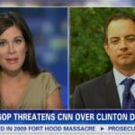 CNN's Erin Burnett Confronts Reince Priebus Over CNN, NBC Boycott Threat