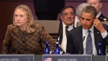 Hillary Clinton Supports President On Syria