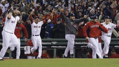Boston Red Sox take home their eighth World Series title
