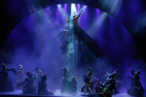 Broadway musical 'Wicked' celebrates 10th anniversary