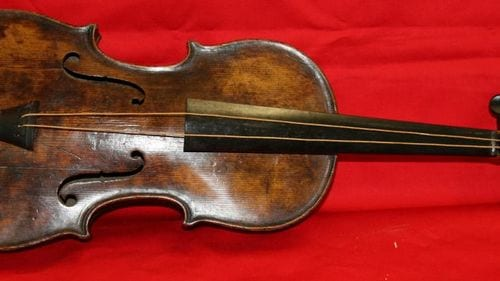 Iconic Titanic violin sold for more than $1.6 million