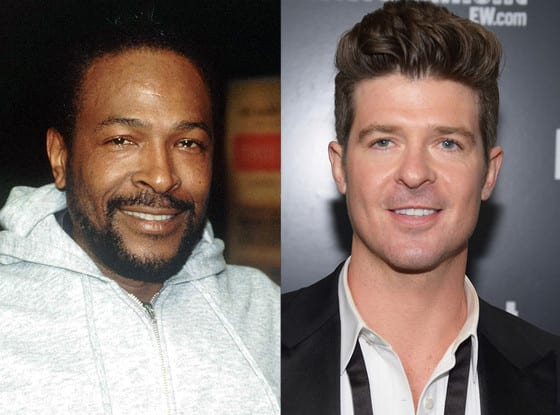 Marvin Gaye family sues Robin Thicke over Blurred Lines