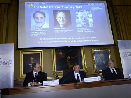 Nobel Prize In Chemistry Awarded To 3 US Scientists