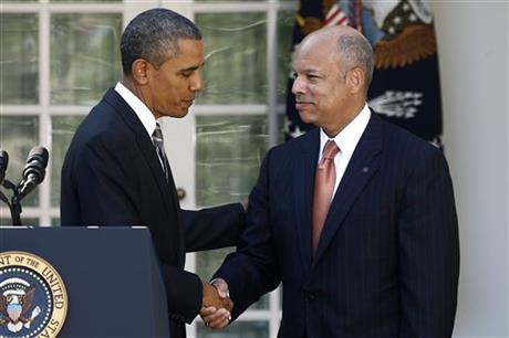Obama nominates Jeh Johnson as secretary of Homeland Security
