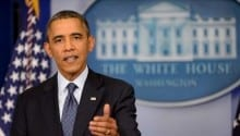 Obama renews calls on Congress to end shutdown, raise debt limit