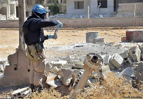Syria destroys all chemical weapons production equipment