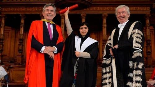 Yousafzai presented with honorary masters, reunited with friends from Taliban attack