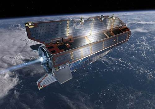 2,000-pound satellite likely incinerated in Earth's atmosphere